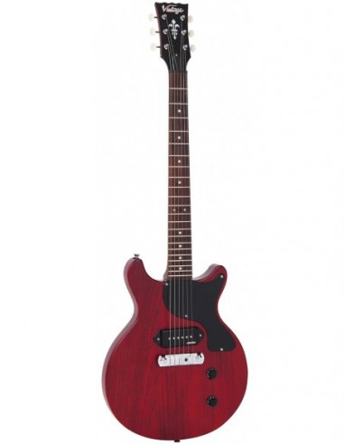 Vintage V130 Cherry Red Satin