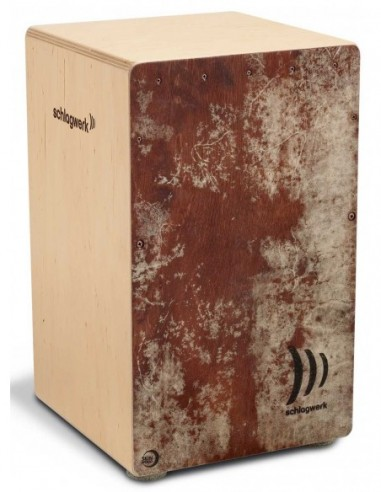 Schlagwerk CP4023 Cajon Skinwood Red