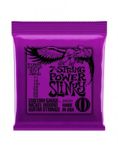 Ernie Ball 2620 Power Slinky 11-58