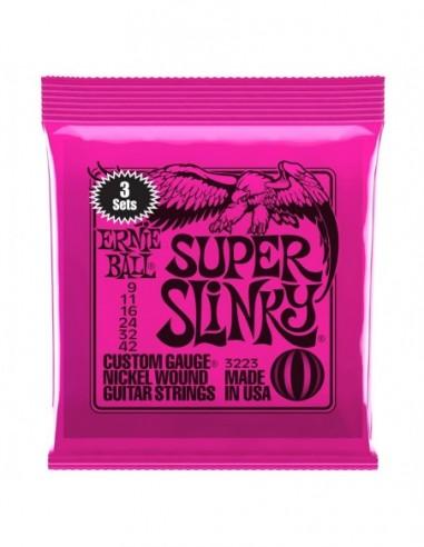 Ernie Ball 3223 Super Slinky 3-Pack