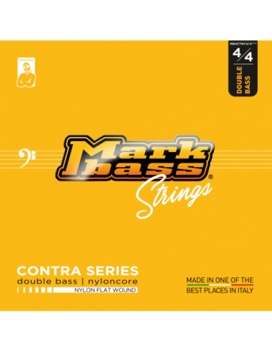 Mark Bass Contra Nylon Flat Wound 4/4