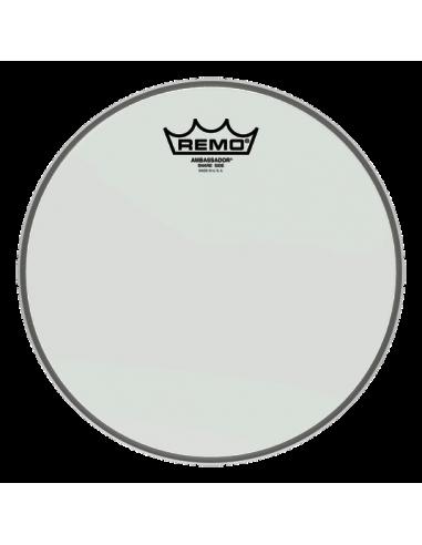Remo Ambassador Hazy Snare Side 10