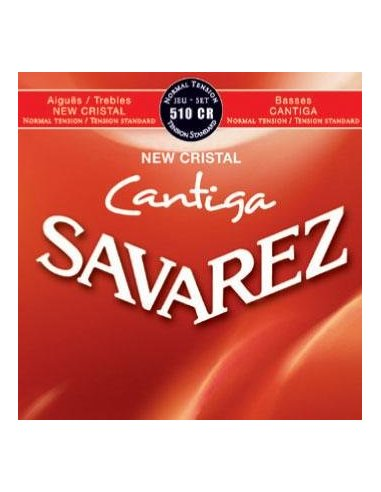 Savarez 510CR Cantiga New Cristal Normal