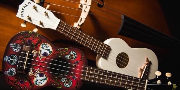Suonare l'ukulele sognando Honolulu